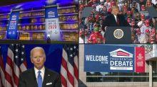 Primeiro debate presidencial nos EUA