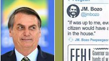 Bolsonaro é chamado de Bozo em HQ do Batman