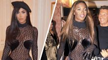 Kim Kardashian finally responded to claims she's copying Naomi Campbell's style