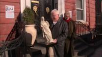 Couple donates Jesus statue to Brooklyn church