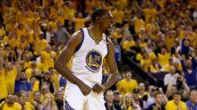 Warriors roar to 2-0 NBA Finals lead in Steve Kerr's return