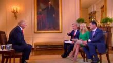 Trump Gives Himself a 'C or C+' On 'Fox & Friends,' Says Obama Is Behind Protests