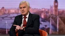 McDonnell warns UK faces decade of disappointment under Tories