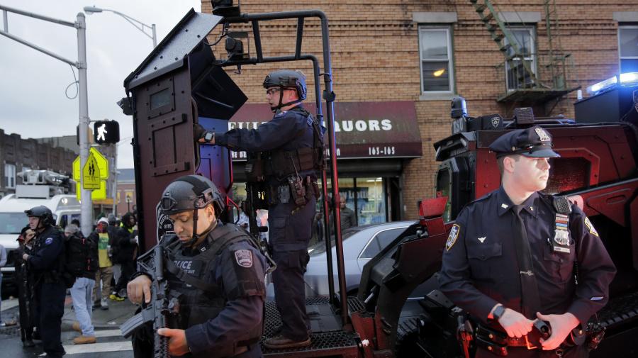 Officer, 3 civilians dead in shootout: Authorities