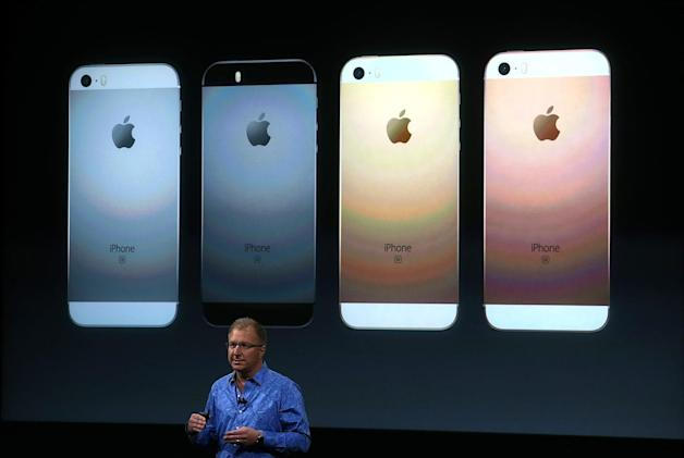 UK pricing for the iPhone SE and smaller iPad Pro