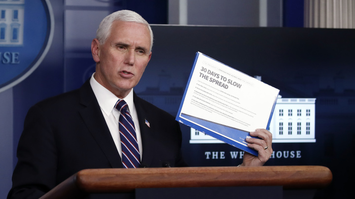 Pence suggests social distancing won't end soon