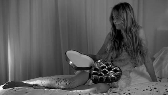 In bed with Cara Delevingne - A Valentine's Day Treat with Love