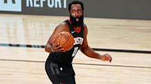 Harden goes nuclear again, scores 45