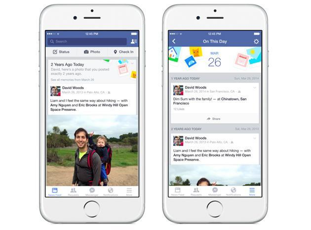 Facebook makes it easier to relive your memories