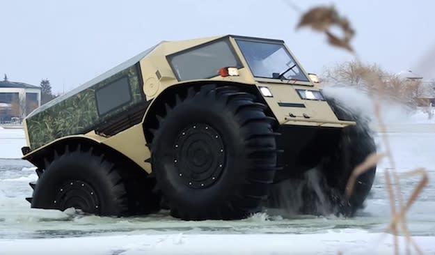 Sherp Atv Price >> For just $65,000, you can buy a ridiculous Russian truck