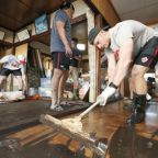 Canadian rugby players help typhoon recovery efforts in Japan