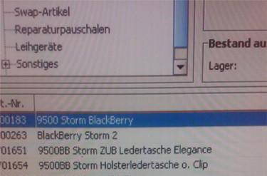 BlackBerry Storm 2 spotted in Vodafone Germany's systems