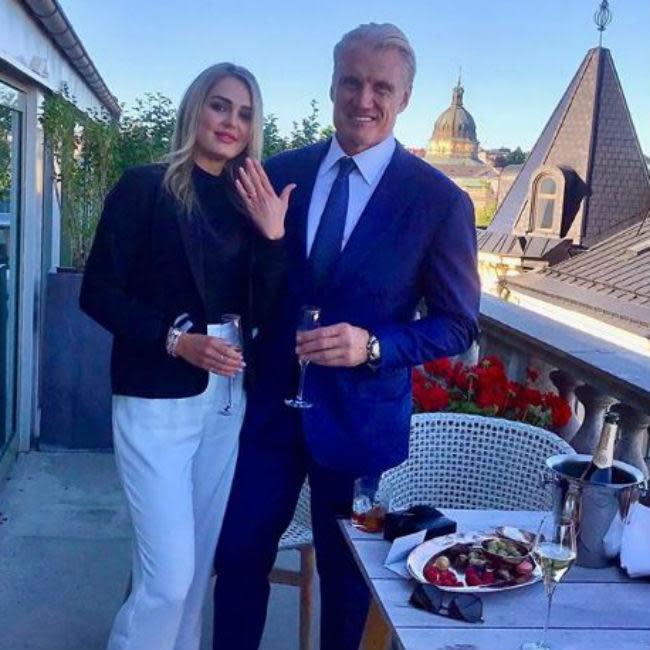 Emma nackt Krokdal Dolph Lundgren