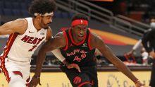 Five thoughts on last night: Raptors 101, Heat 81