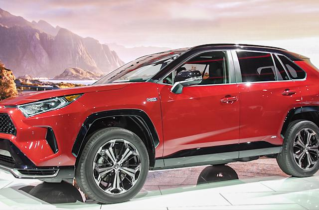 Toyota's RAV4 Prime will be the second fastest vehicle in its lineup