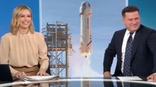 Today's Ally and Karl crack up over billionaire's 'odd' space rocket