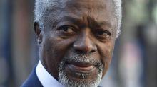 Kofi Annan, ancien secrétaire général de l'ONU, est mort