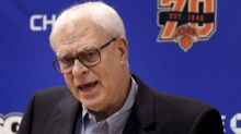 Phil Jackson confirms Kristaps Porzingis trade talks, should stop talking