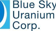 Blue Sky Uranium Reports Positive Geophysics Survey and Exploration Results at the Amarillo Grande Uranium-Vanadium Project