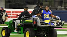 Terrell Burgess will miss rest of season with broken ankle
