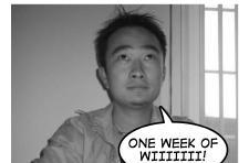 Live feed: watch someone play the Wii for a week