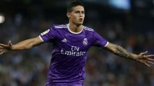 VIDEO: Real Madrid Star James Rodriguez Pulls Off Amazing Trick Shot During Training