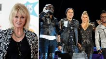 Mass confusion after Joanna Lumley announced as host of Black Eyed Peas TV special