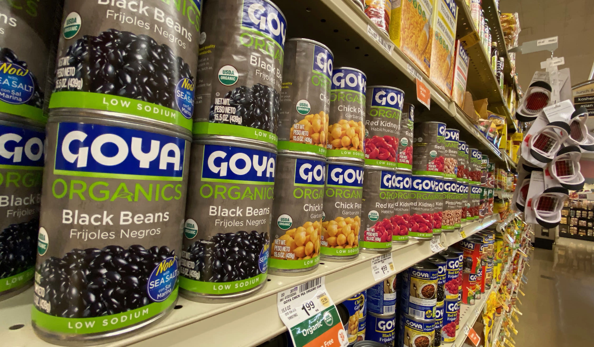 Goya CEO's cozying up to Trump may have backfired, study shows