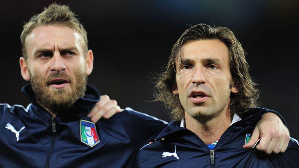 Pirlo: Es ist Zeit für De Rossi, AS Rom zu verlassen