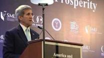 Kerry Pushes Pacific Rim Trade Deal in Singapore