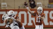 Ehlinger leads No. 14 Texas romp over UTEP 59-3