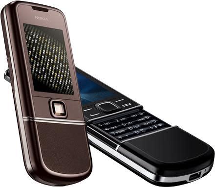 Nokia's 8800 Arte and Sapphire Arte for the nouveau riche