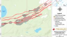 Treasury Metals Announces Commencement of 10,000m Drilling Program at Goldlund Gold Project