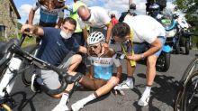 Tour de France - AG2R - Tour de France : «Petite hémorragie» pour Romain Bardet à cause de sa commotion