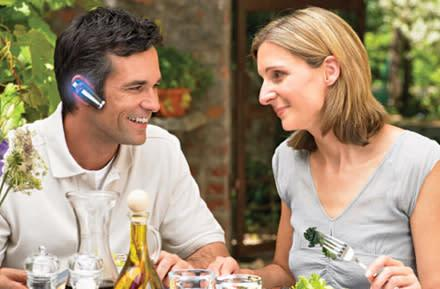 The Onion lampoons habitual headset wearer on a date