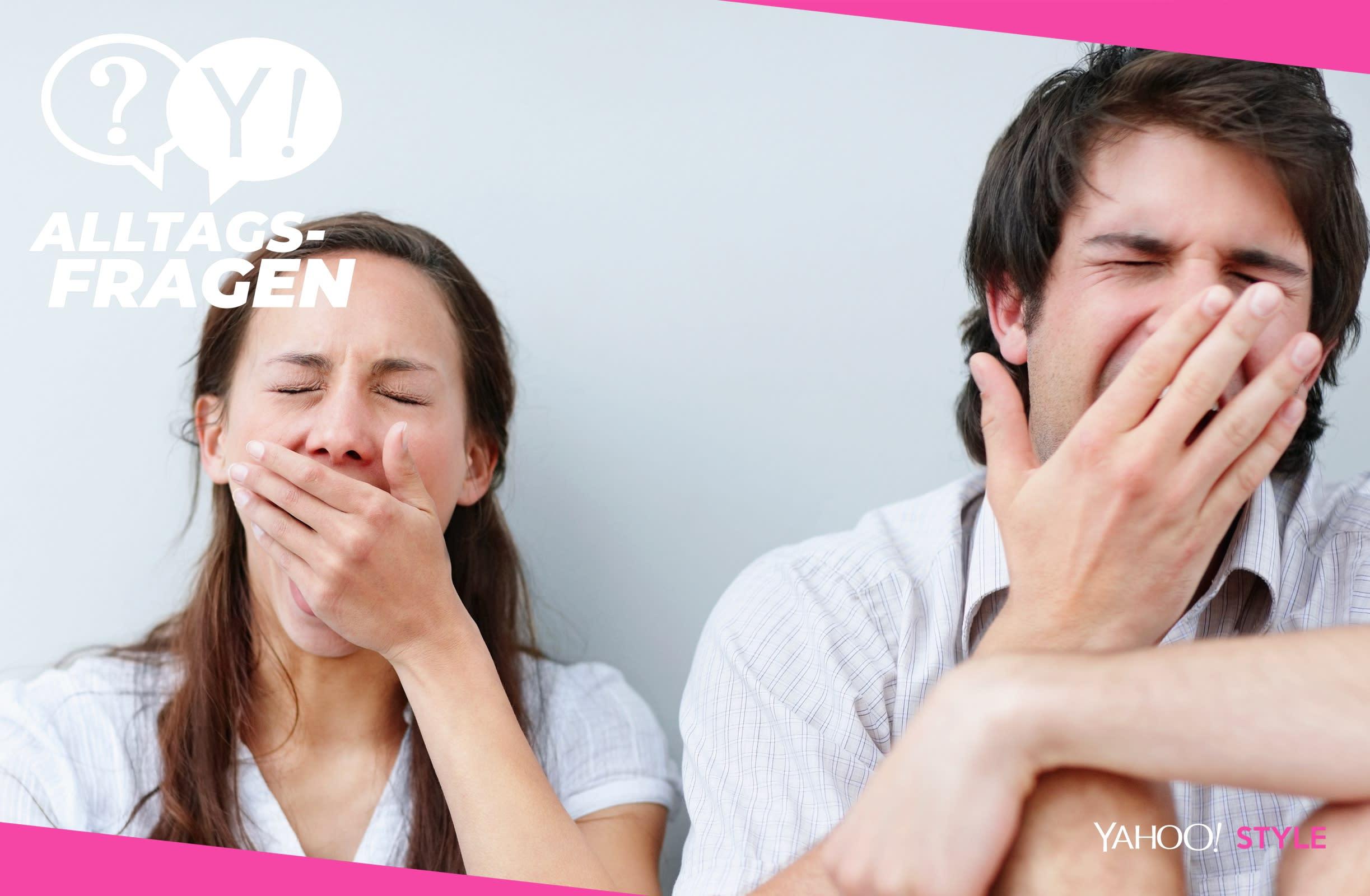 Gähnen Sauerstoffmangel