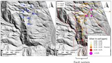 Aurania's LiDAR Data Identifies a Set of Vein-Like Features at the Tiria Epithermal Gold-Silver Target