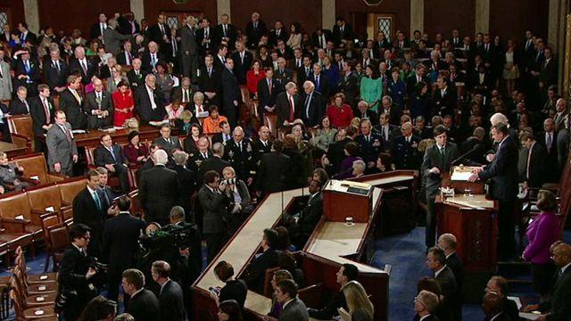 Stunts at the State of the Union