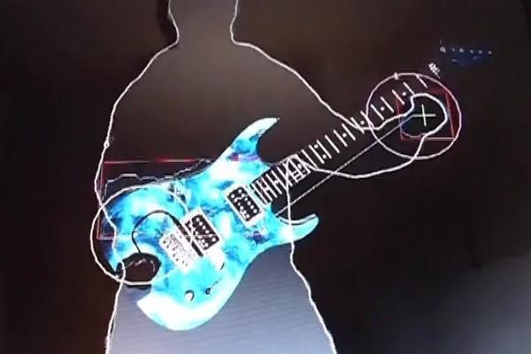 Kinect meets its maker with new air guitar hack (video)