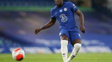 Foot - ANG - Chelsea - Composition de Chelsea face à Southampton:Kurt Zouma et N'Golo Kanté débutent
