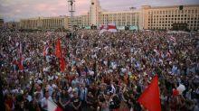 Líder da oposição de Belarus pede que europeus rejeitem resultado de eleição
