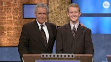Why 'Jeopardy!' star Ken Jennings doesn't want to replace Alex Trebek, how James Holzhauer remembers host