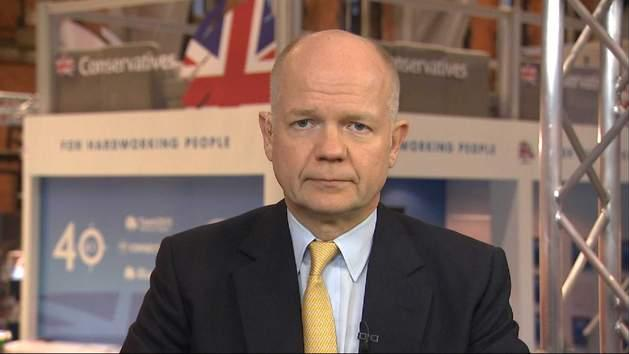 William Hague: Our 'Chances Are Good'