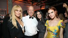 All Five of Bruce Willis's Daughters Posed for a Rare Photo Together