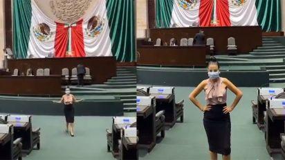 """Diputada que bailó reggaetón en la Cámara quiere castigar a quien haga memes que """"dañen la dignidad humana"""""""