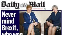 Nicola Sturgeon Responds to 'Legs-It': 'It's a Deliberate Attempt to Demean Women'