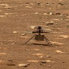 Nasa's Ingenuity helicopter still stuck on surface of Mars as engineers rush to give it software update