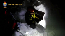 In pictures: Guests feared dead after avalanche buries mountain hotel in earthquake-hit Italy