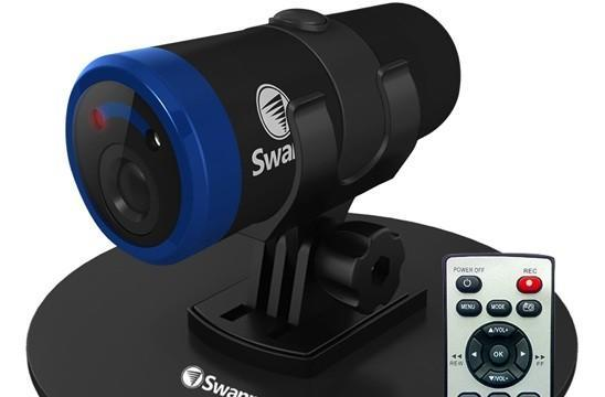 Swann Bolt HD action camera shoots 1080p video, 12MP stills with laser targeting