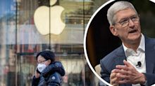 'Only temporary': Apple CEO brushes off coronavirus concerns
